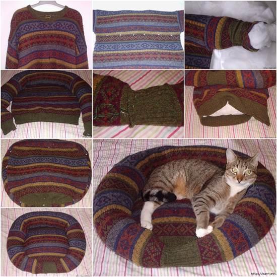 14-diy-sweatshirt-or-sweater-pet-bed-17