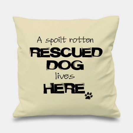 cream-cushion-SPOILT-RESCUE-DOG
