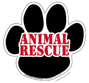 animal rescue paw