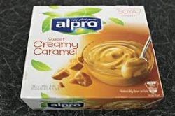 This image has an empty alt attribute; its file name is alpro-caramel-250x166.jpg