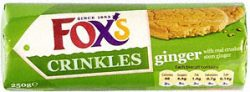 This image has an empty alt attribute; its file name is foxs-crinkle-crunch-ginger-250x92.jpg